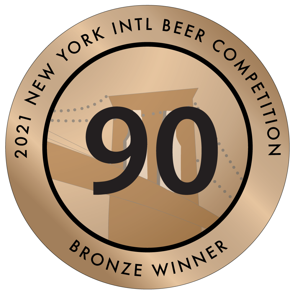 NY beer competition bronze